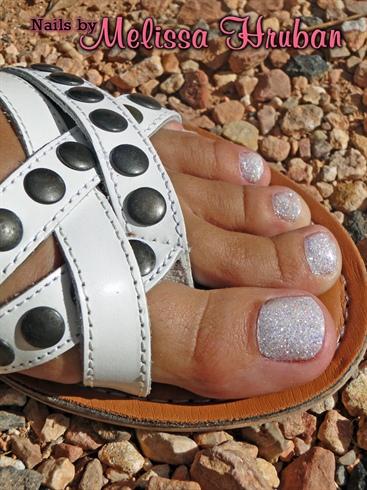 Diamond Dust Glitter Toes
