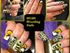 WCHS Wrestling Nails