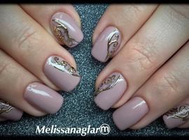 nail art: Melissanaglar