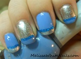 Blue Foil French