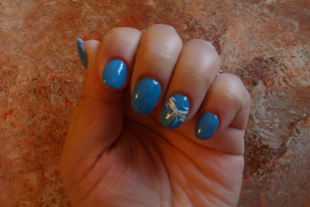 blue mani