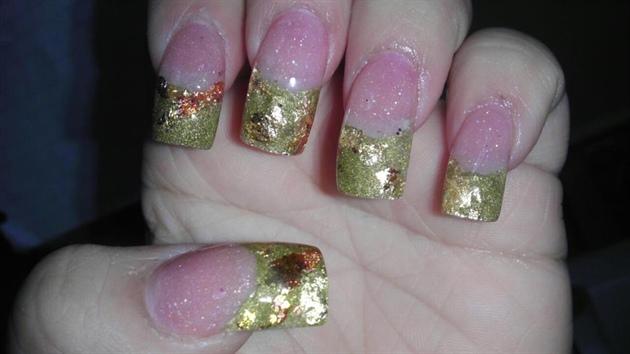 metallic Gold n foil