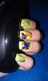 Marker/alcohol sping nail