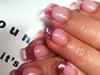 See thru pink tips