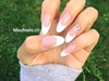 Oval French Nails By Meo