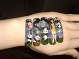 cute kawaii panda style