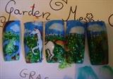 my 1 acrylic paint nails