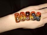 Fall nail art l