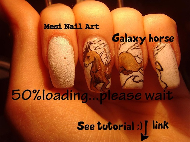 Galaxy horse see tutorials