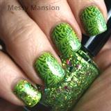 Peridot Green nails
