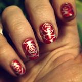 Foil roses