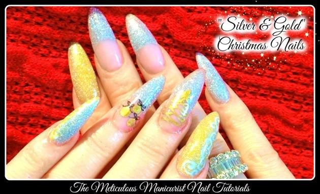 Stiletto Christmas Nails