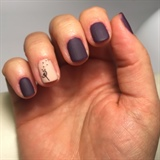 Matte Gel Polish Manicure