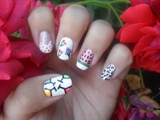 Summer fun nail art!