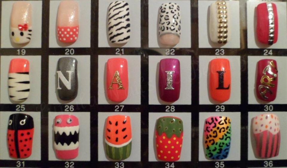 My nail art display keeps growing nail art gallery prinsesfo Images