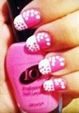 Pink&White! (dots)