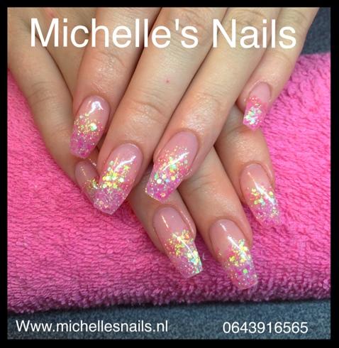Glitterrrr Pink Ombre