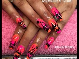 nail art: Marble