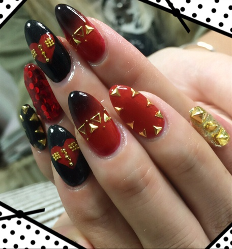 CHRISTIAN LOUBOUTIN NAILS - CHRISTIAN LOUBOUTIN NAILS - Nail Art Gallery