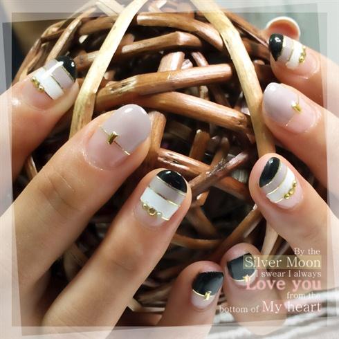 Tricolore Nails