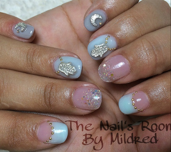 Cute Short Oval Nails Nail Art Gallery