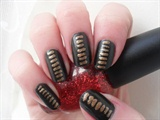 Jessie J inspired Black with Gold.