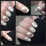 Vampire Decal Nails