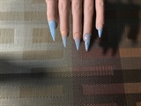 Baby Blue & Nude