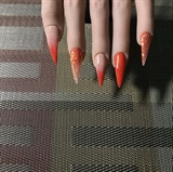 Orange & Nude