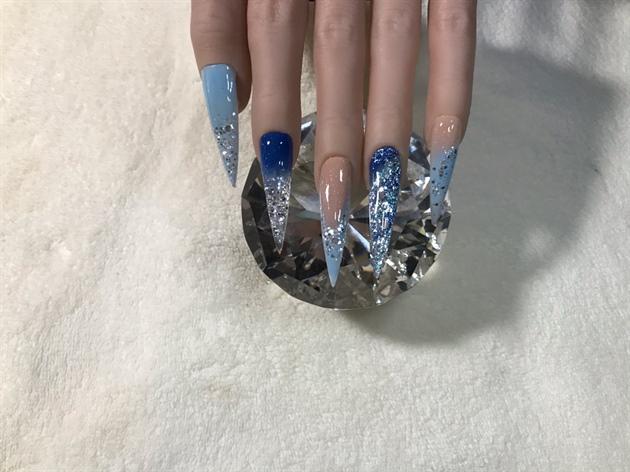 Ice Crystal Christmas