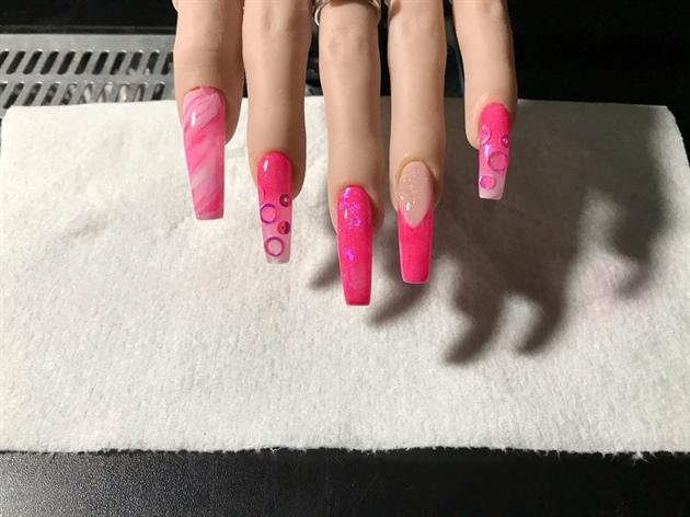 Hot Pink Valentines Day