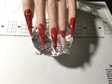 Glitter Red Valentines