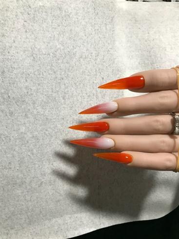 Orange Zest & Nude