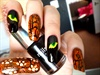 spooky cats eye halloween nail art