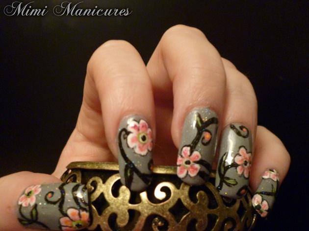pretty flower design