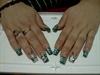 zebra aquarium nails