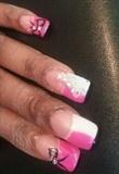 Pink & white deco