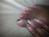 Fall nail and toes