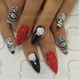 Illuminati nails