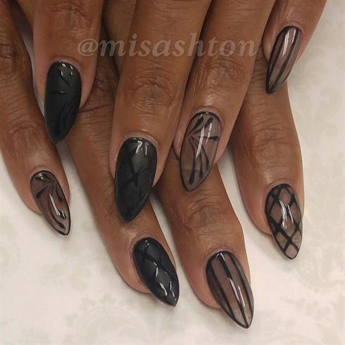 Sheer black