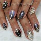 My birthday nails :)