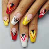 Native nail art