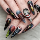 Pennywise Nails