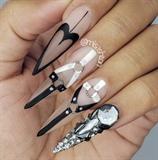 Bondage Nails