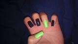 green n grey