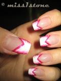 white & pink...again