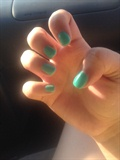 Mint Gel Nails