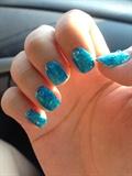 Glittery Blue 💙
