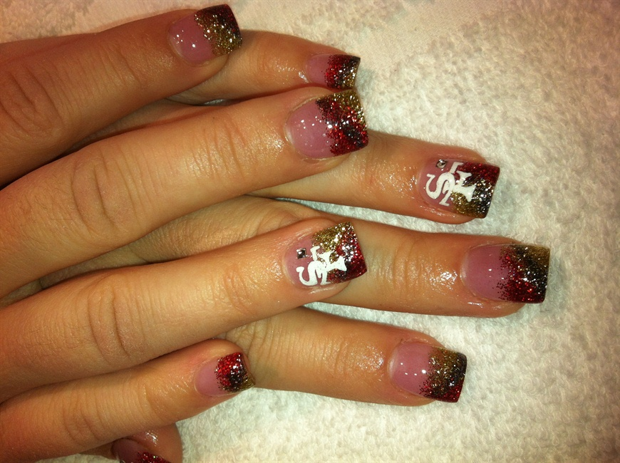 49ers! - Nail Art Gallery