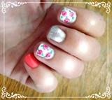 Rosette Pink Glitz